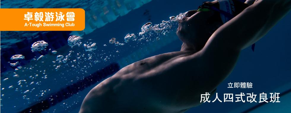 卓毅游泳會 - 成人四式改良班